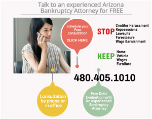 free consultation with experienced Arizona bankruptcy attorney