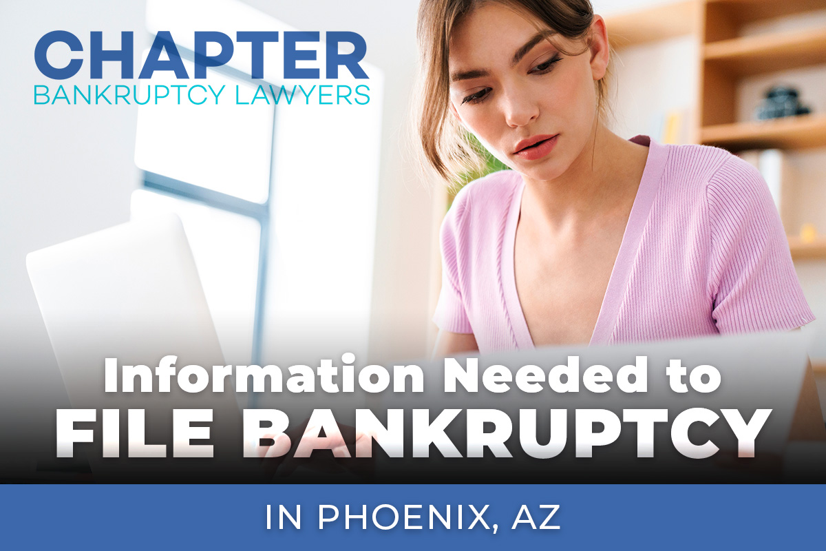information bankruptcy Arizona