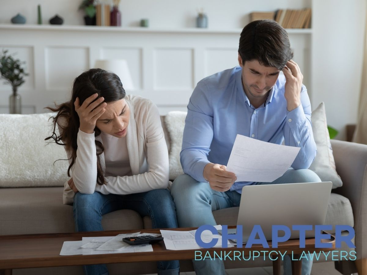 Distressed couple worried about bankruptcy