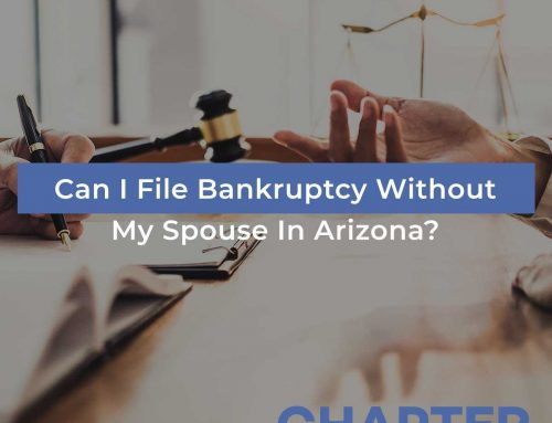Can I File Bankruptcy Without My Spouse In Arizona?